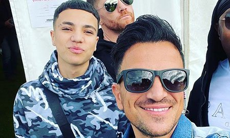 Peter Andre thrills fans with heartwarming video of 'supportive' son Junior