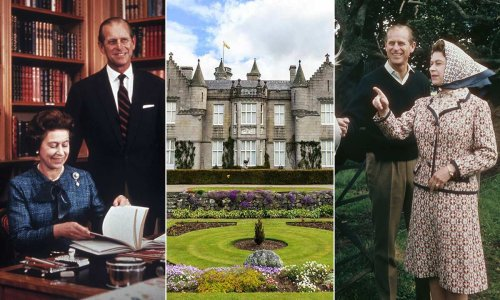 The Queen's private holiday home is full of Prince Philip memories – photos
