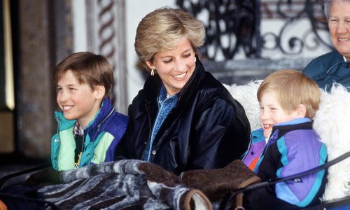 Unearthed Princess Diana letter reveals special bond between Prince William and Prince Harry