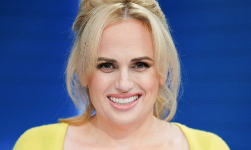 Rebel Wilson looks like a real-life doll in breathtaking new photo
