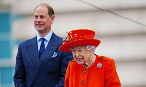 The Queen returns to Buckingham Palace for rare joint outing with Prince Edward - best photos