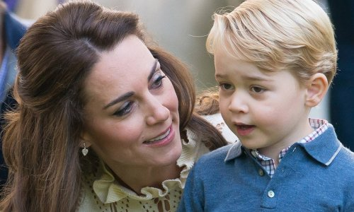 Kate Middleton and Prince George just made us want a pair of crocs