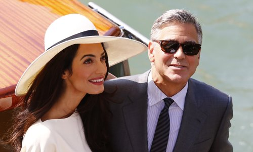 George and Amal Clooney celebrate happy family occasion with their twins