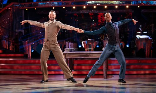 Strictly Come Dancing fans melt over 'adorable' dialogue between John and Johannes in hidden mics clip