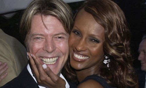 Iman's never-before-seen picture of David Bowie and daughter Lexi leaves fans choked up
