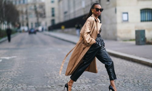 We've found the best leather trousers and leggings to wear with literally everything this autumn