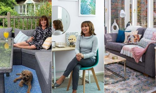 Lorraine Kelly downsized to riverside home after daughter Rosie moved out – inside