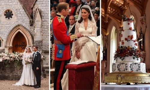 The most beautiful royal wedding colour schemes revealed
