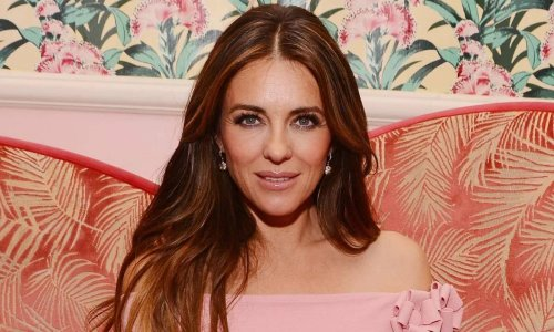 Elizabeth Hurley's showstopping sheer dress will take your breath away