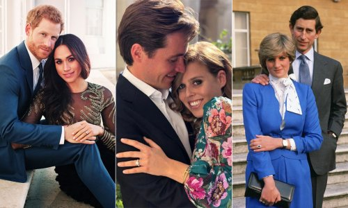 7 incredible royal engagement photos through the years
