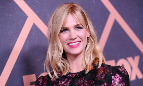 January Jones' relaxing self-care Sunday involved two things we want right now