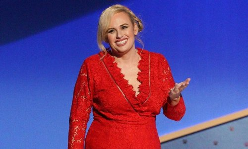 Rebel Wilson stuns in a crop top as she shares a special message with fans