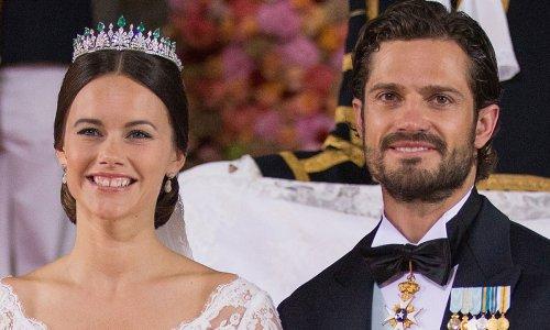 Princess Sofia's gorgeous wedding dress had major Kate Middleton vibes