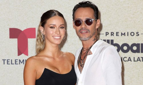 Marc Anthony shares a kiss with new girlfriend as he debuts surprise romance