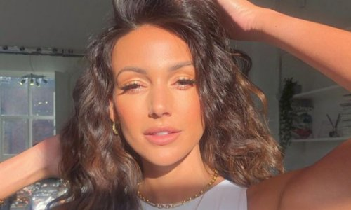 Michelle Keegan's off the shoulder dress causes a sellout situation