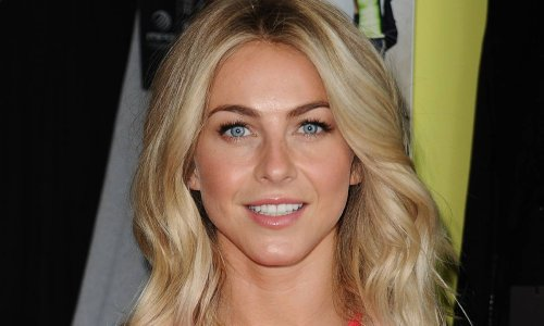 Julianne Hough displays her dancer's body in cute yellow bikini