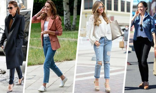 The jeans celebs swear by: From Kate Middleton to Sofia Vergara & fashionista Victoria Beckham