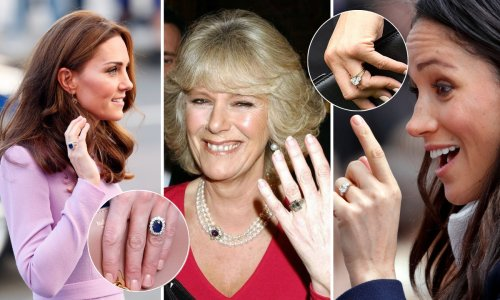 Most expensive royal engagement rings revealed in order of price