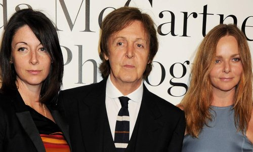 Paul McCartney serenaded by daughters in rare family footage