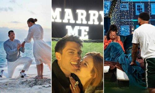 20 heart-melting celeb proposals: Katy Perry, Vogue Williams, Jennifer Lopez & more