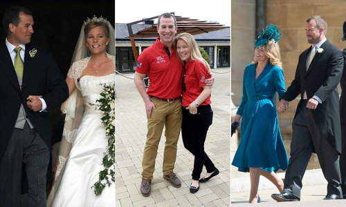 Look back on Autumn Phillips and Peter Phillips's relationship as they split - HELLO! Canada