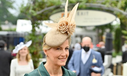 Countess Sophie surprises with royal wedding headpiece at Royal Ascot Ladies' Day