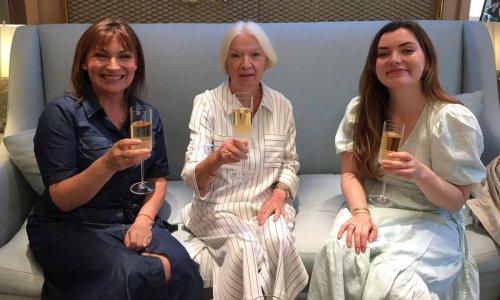 Lorraine Kelly celebrates mum's 80th birthday with personal family photos
