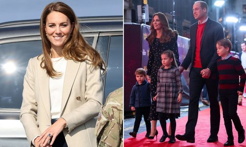 Kate Middleton reveals George, Charlotte and Louis' shared interest with dad William