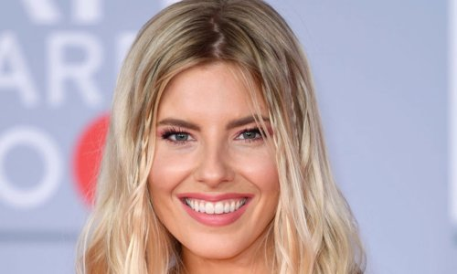 Mollie King sends fans wild in floral mini skirt and crop top