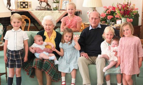 Prince William and Kate reveal George, Charlotte and Louis are missing great-grandfather Prince Philip