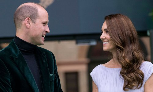 Prince William and Kate Middleton share rare PDA in sweet behind-the-scenes photos