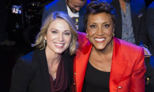 How GMA's Robin Roberts helped co-host Amy Robach during emotional health battle