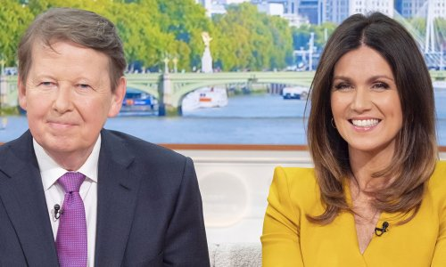 GMB's Susanna Reid reacts to co-host Bill Turnbull's health update amid cancer battle