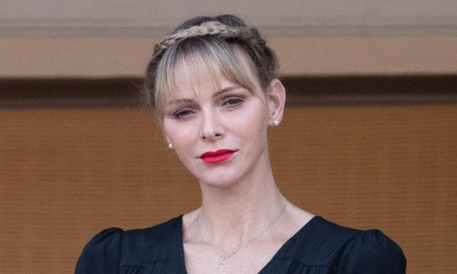 Princess Charlene showered with supportive messages after she shares new photo of herself
