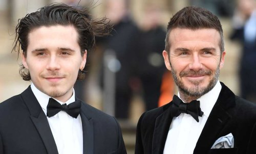 Brooklyn Beckham melts hearts with adorable tribute to dad David Beckham
