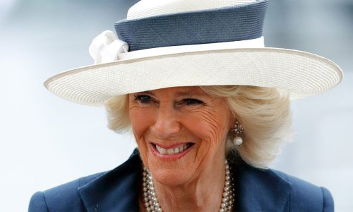 The Duchess of Cornwall is gorgeously glam in green for royal trip to Belfast