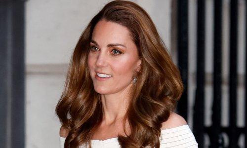 Kate Middleton looks so glamorous in gorgeous white dress during royal outing