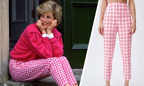 Obsessed with Princess Diana's iconic gingham trousers? We've found the perfect dupes