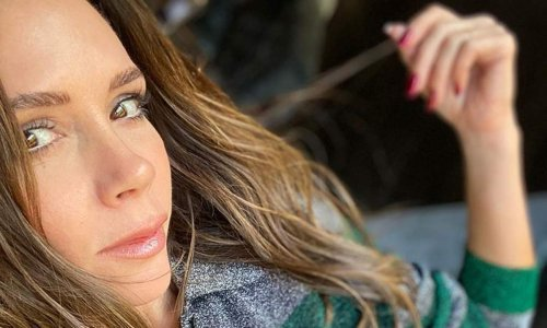 Victoria Beckham gave the humble jumper a risqué update no-one saw coming