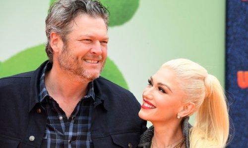 Gwen Stefani praises husband Blake Shelton as the pair celebrate happy news