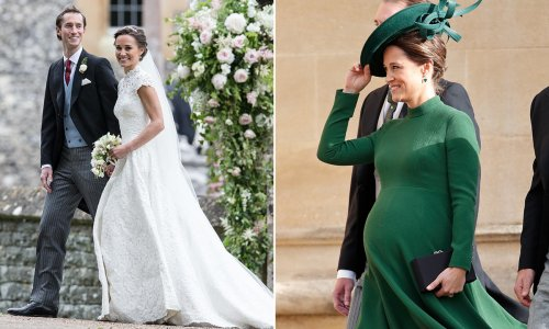 Pippa Middleton's birth stories of her two children Grace and Arthur
