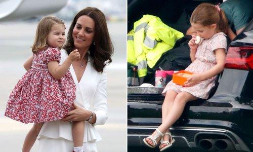 Princess Charlotte's unusual eating habit she inherited from mum Kate Middleton