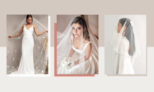 21 of the best wedding veils to choose from for a beautiful bridal moment