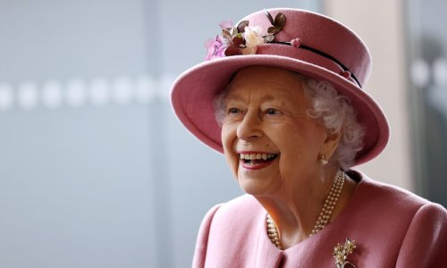 The Queen receives heartwarming family visit following her hospital stay