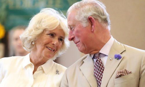 Prince Charles and Camilla share loving picture as a thank you for anniversary well wishes