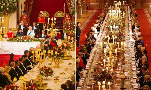 Show-stopping royal dining rooms: The Queen, Prince Charles & more REVEALED