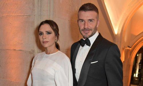 Victoria and David Beckham share rare kiss in romantic date night photo