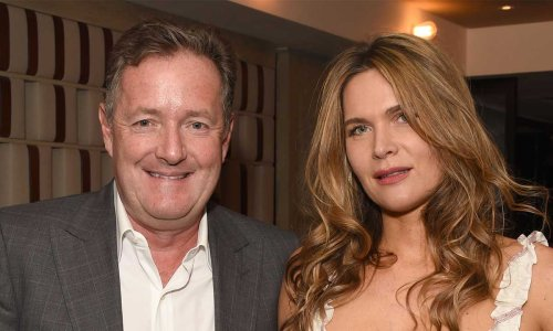 Piers Morgan shares first date photo with wife Celia on wedding anniversary