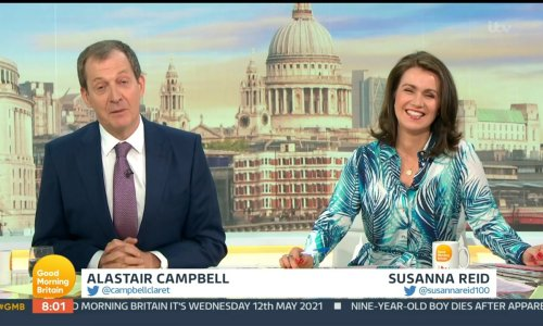 Good Morning Britain viewers shocked as royal death accidentally announced