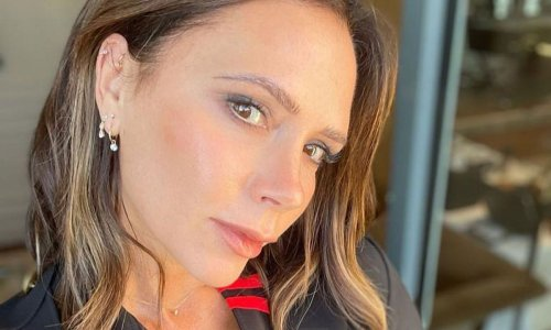 Victoria Beckham shares swimwear picture of David as they finally reunite in Italy